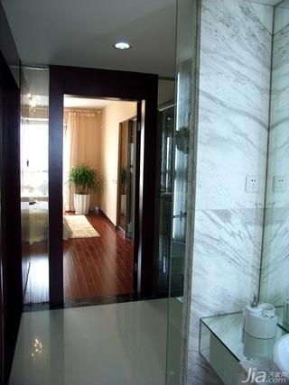 中式风格公寓大气原木色豪华型140平米以上主卫过道洗手台效果图