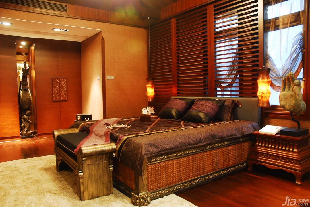 欧式风格别墅奢华豪华型140平米以上卧室床效果图