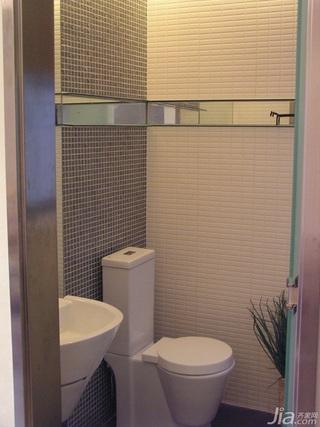 别墅温馨白色豪华型140平米以上卫生间浴室柜图片