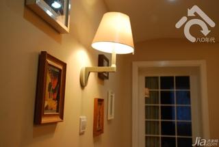 混搭风格小户型可爱黄色经济型40平米壁灯图片