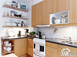 简约风格小户型实用经济型50平米厨房橱柜效果图