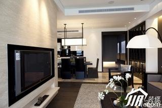 简约风格公寓简洁豪华型客厅客厅隔断灯具效果图