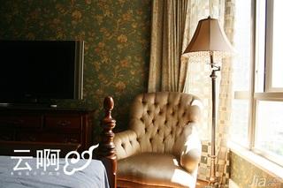 美式乡村风格三居室古典富裕型窗户效果图