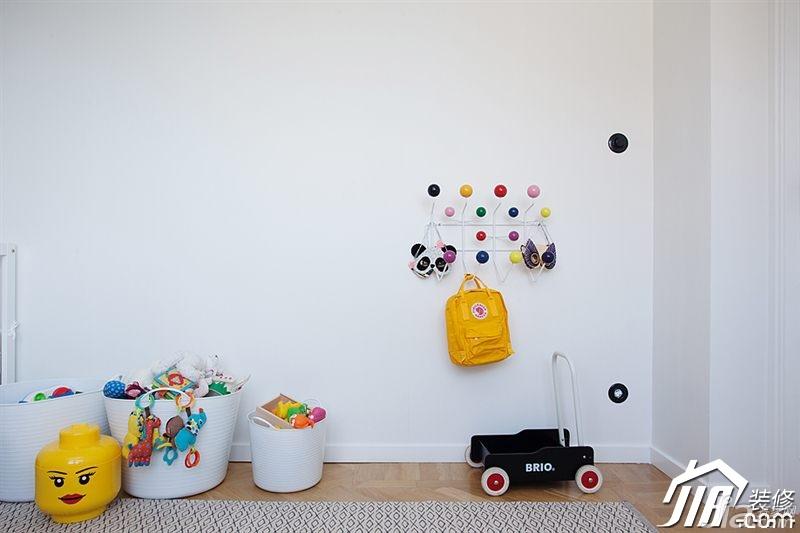 北欧风格二居室经济型儿童房效果图