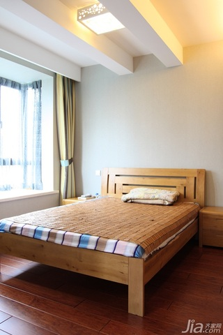 新古典风格复式古典豪华型140平米以上卧室地板效果图