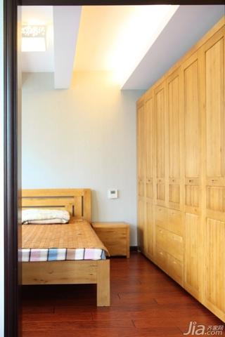 新古典风格复式古典豪华型140平米以上卧室地板图片