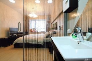 公寓大气白色豪华型140平米以上主卫洗手台效果图