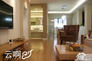 北欧风格三居室富裕型客厅沙发图片