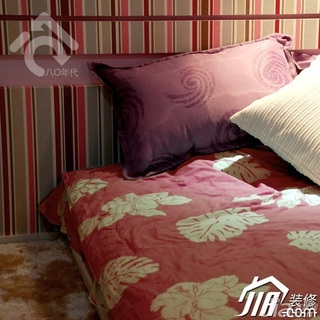 简约风格公寓时尚米色富裕型卧室婚房家装图片