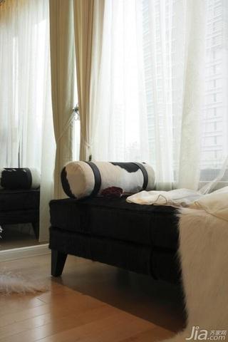 欧式风格公寓富裕型书房窗帘效果图