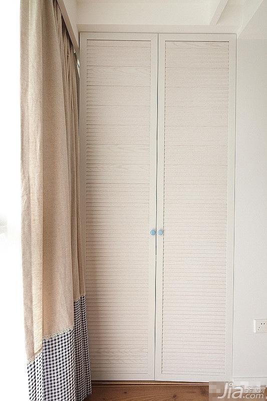 混搭风格三居室简洁富裕型衣柜设计