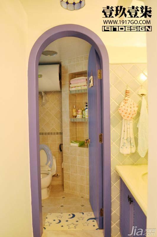 东南亚风格小户型3万-5万卫生间装修