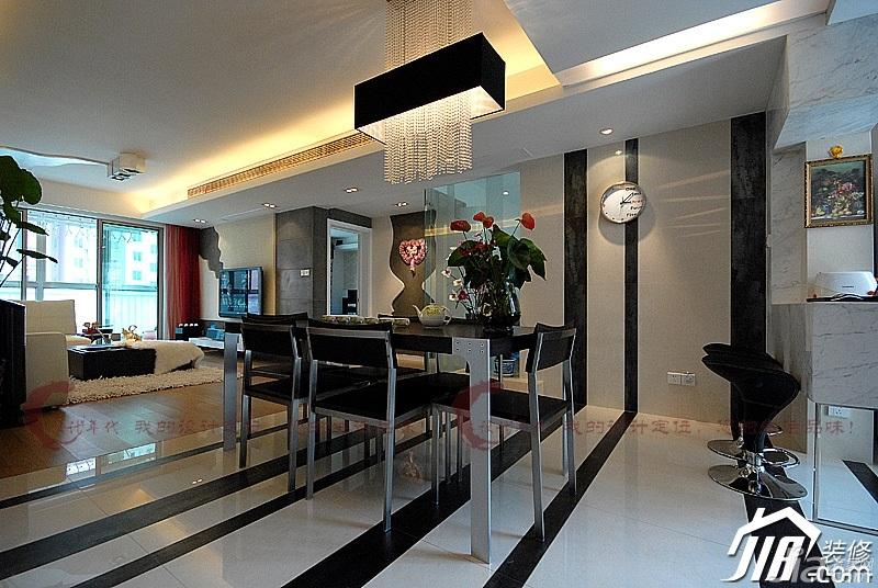 设计年代简欧风格公寓时尚暖色调富裕型餐厅灯具婚房设计图纸