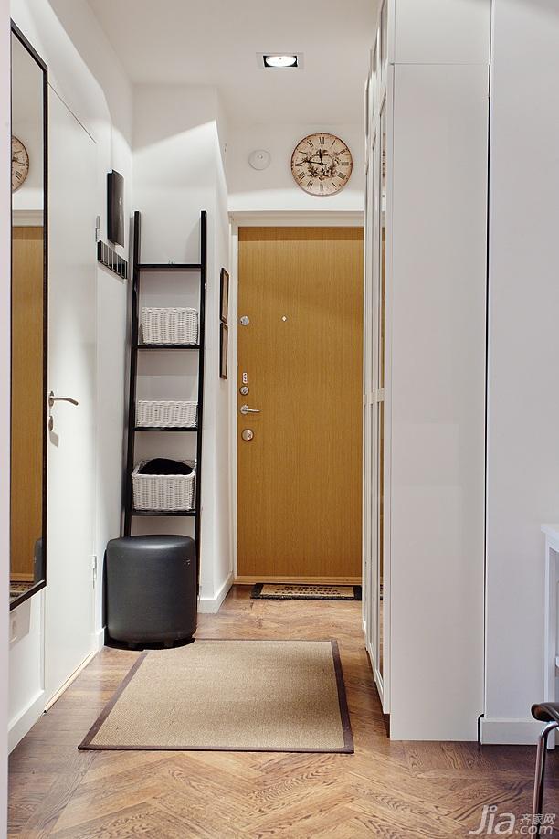 欧式风格小户型3万以下门厅玄关柜效果图高清图片
