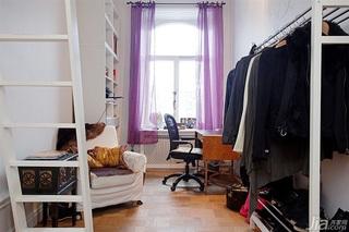 欧式风格三居室富裕型衣帽间沙发效果图