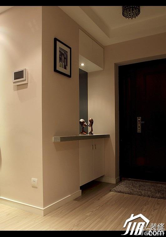 简约风格公寓富裕型100平米门厅装修图片