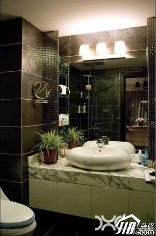 欧式风格二居室奢华豪华型卫生间洗手台效果图