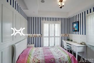 欧式风格别墅富裕型140平米以上卧室壁纸效果图
