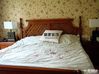 小户型小清新3万-5万卧室壁纸效果图