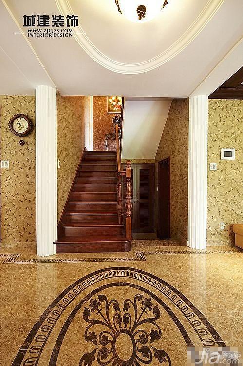 新古典风格别墅奢华20万以上楼梯设计图
