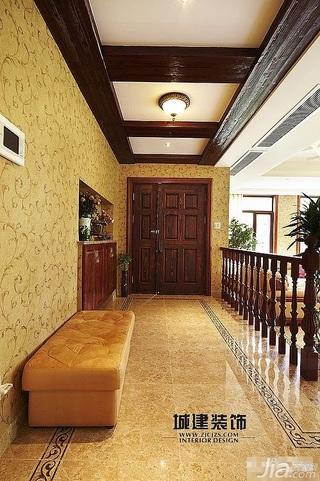 新古典风格别墅20万以上过道效果图