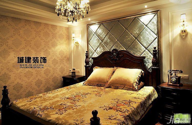 效果图卧室床头软包效果图圆床卧室装修效果图床头柜图片各种灯具图片图片