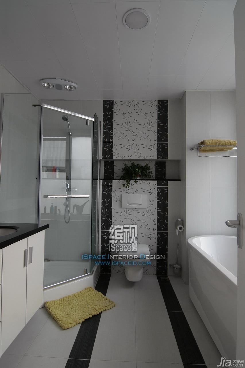 简约风格别墅经济型卫生间装修效果图