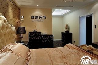 欧式风格四房豪华型卧室壁纸效果图