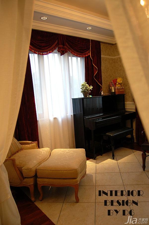 欧式风格别墅奢华豪华型卧室装修效果图