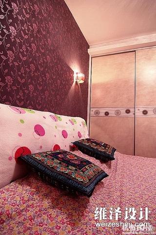 简约风格公寓富裕型60平米卧室衣柜设计图