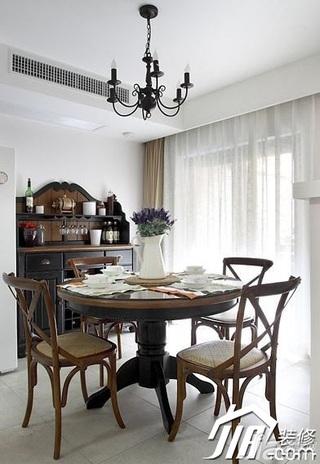 欧式风格别墅时尚富裕型140平米以上餐厅橱柜效果图
