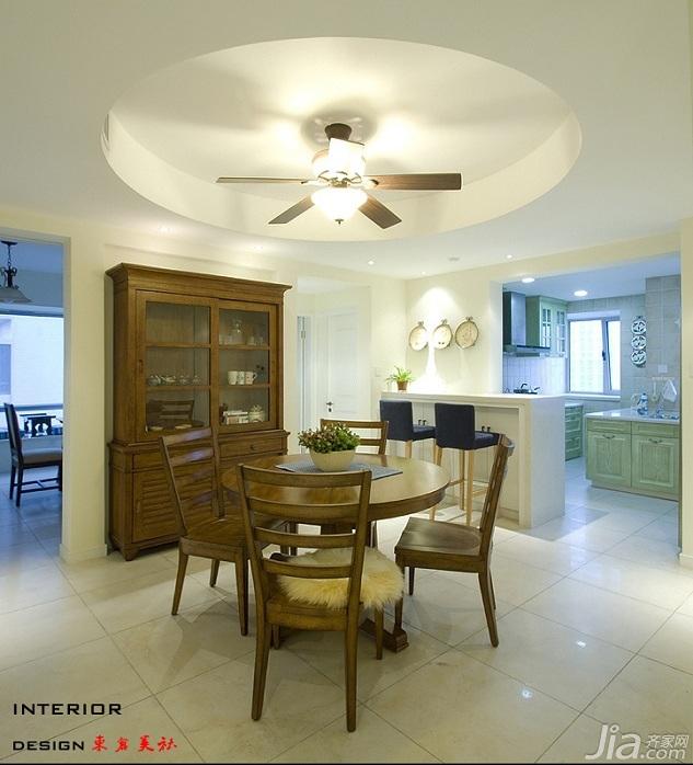 四房小清新暖色调富裕型140平米以上餐厅橱柜定做