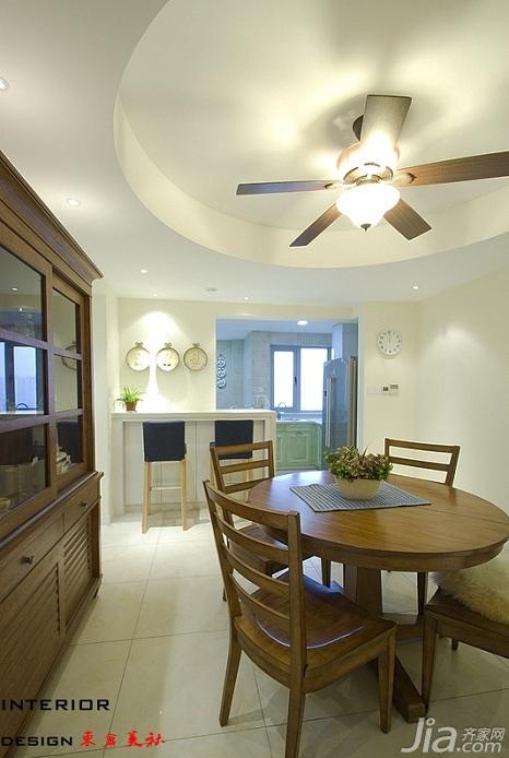 四房小清新暖色调富裕型140平米以上餐厅橱柜订做