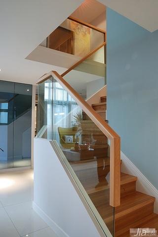 loft风格跃层富裕型楼梯设计