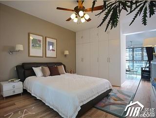 三米设计简约风格公寓经济型130平米卧室衣柜设计图纸