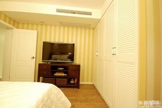 简约风格三居室富裕型卧室衣柜设计图纸
