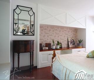三米设计东南亚风格复式富裕型卧室装潢