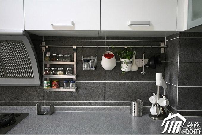 三米设计简约风格公寓经济型130平米厨房效果图
