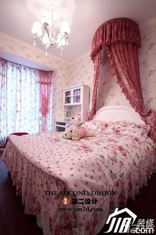 欧式风格奢华金色豪华型140平米以上卧室壁纸效果图