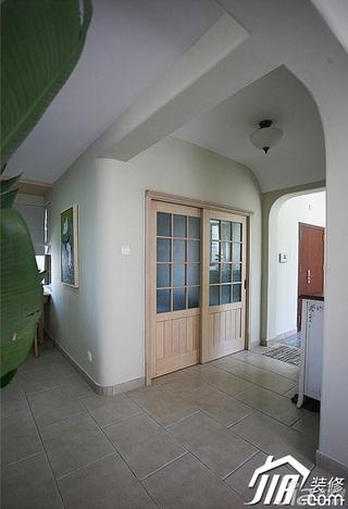 三米设计简约风格公寓经济型130平米门厅装修