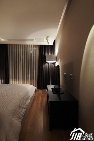 简约风格公寓大气褐色富裕型卧室电视柜效果图