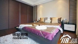 混搭风格三居室富裕型卧室衣柜图片