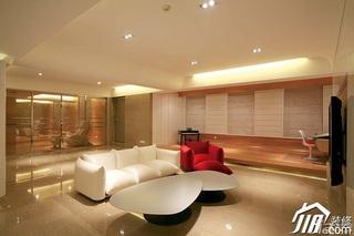 简约风格别墅奢华米色富裕型140平米以上客厅沙发效果图