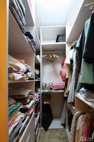 欧式风格二居室温馨豪华型80平米衣帽间衣柜效果图