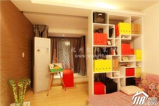 简约风格公寓富裕型客厅客厅隔断装修图片