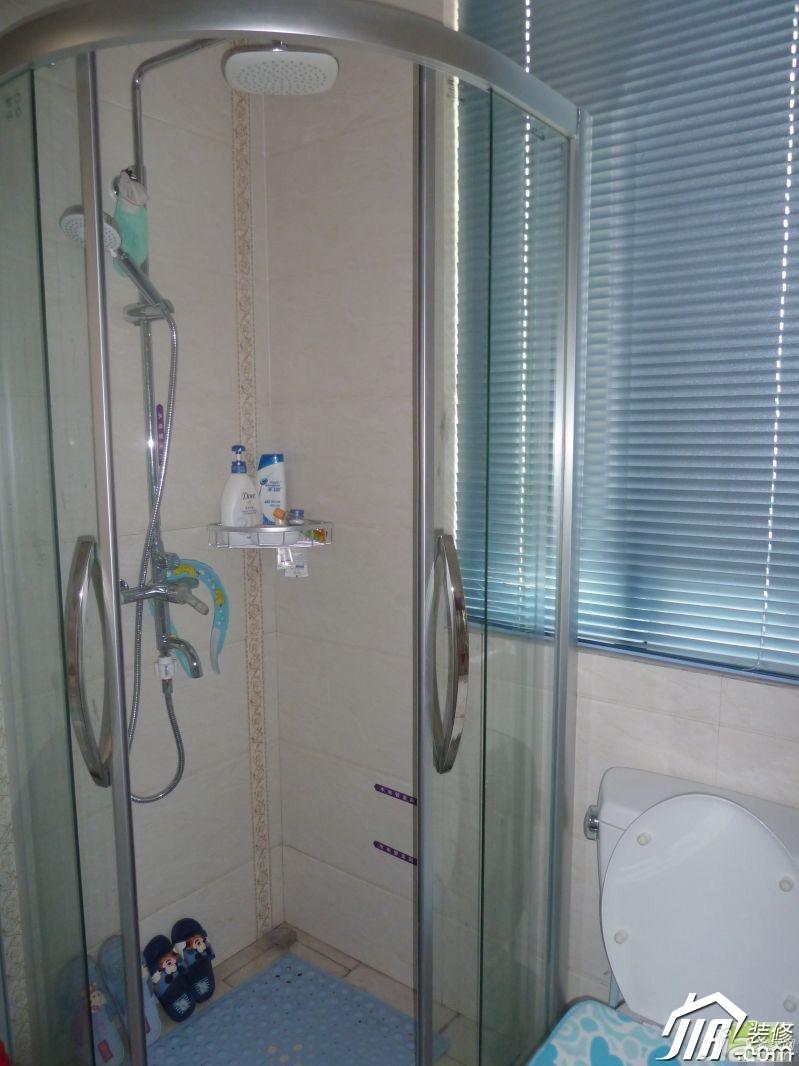 简约风格小户型3万-5万卫生间设计