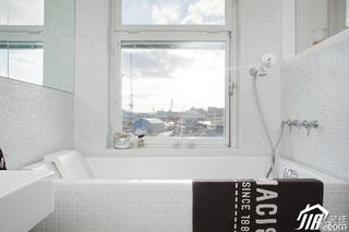 宜家风格一居室简洁经济型卫生间装潢
