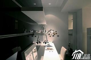 简约风格二居室温馨米色富裕型工作区设计图
