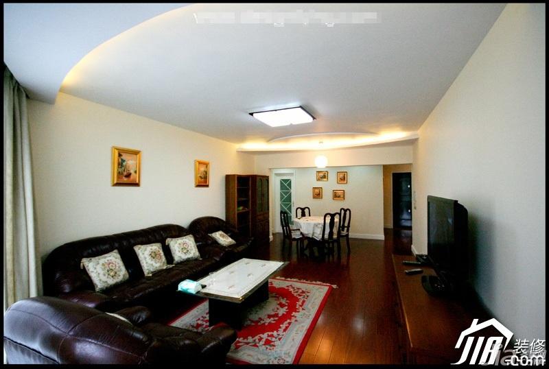 简约风格三居室简洁3万-5万客厅沙发效果图