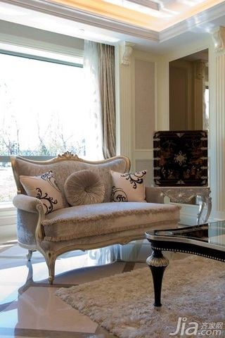 欧式风格别墅古典豪华型140平米以上客厅沙发效果图